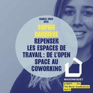 Label Experience : affiche de Sophie au salon Maison & Objets
