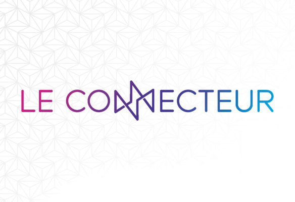 Label Experience: Logo du tiers-lieu « Le Connecteur » du Crédit Agricole à Biarritz.