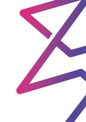 Label Experience: Focus sur le symbole du logo du tiers-lieu « Le Connecteur » du Crédit Agricole à Biarritz.