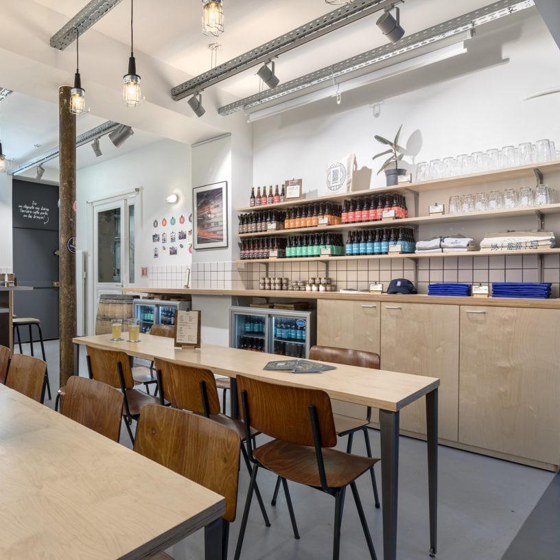 Label Experience : Prisse de vue intérieur du bar « BAP BAP » à Paris
