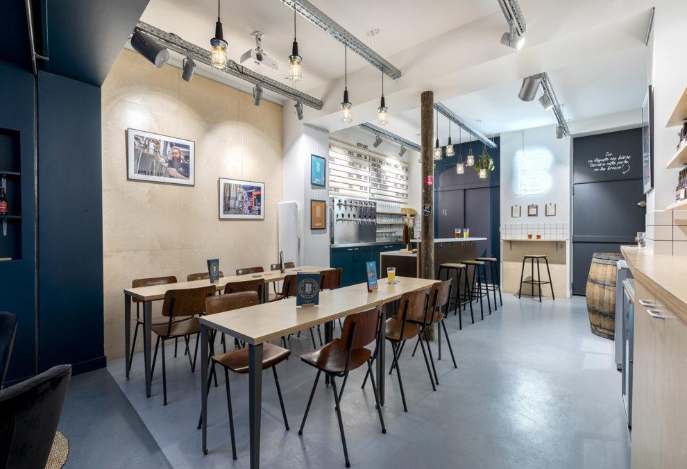 Label Experience: Salle principale du bar « BAP BAP » à Paris