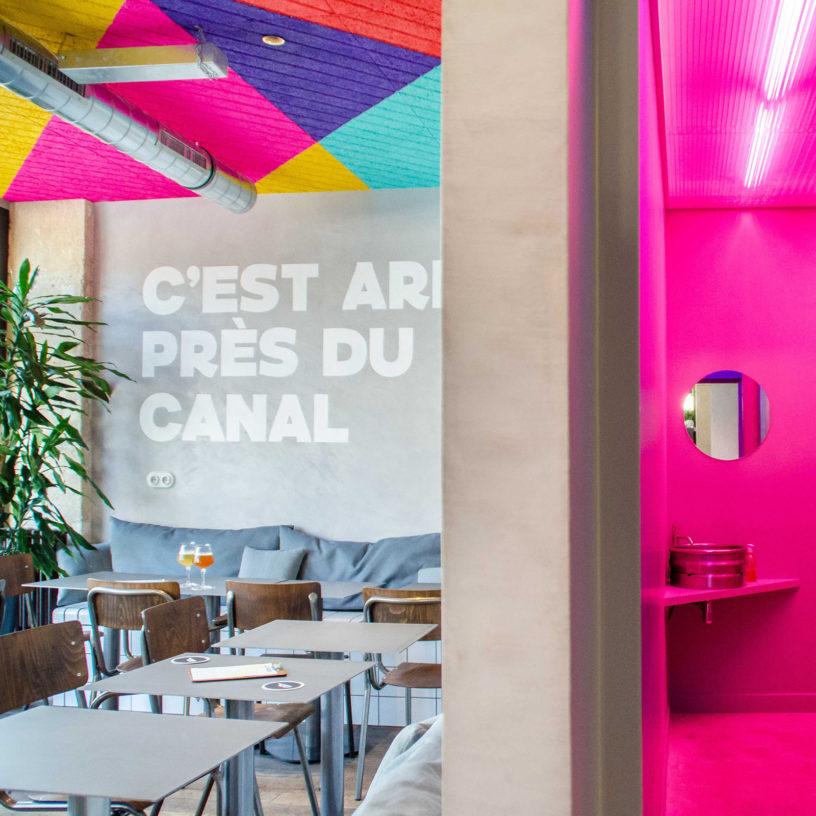 Label Experience : zoom sur l'espace dégustation au sein du bar Brussels Beer Project Canal