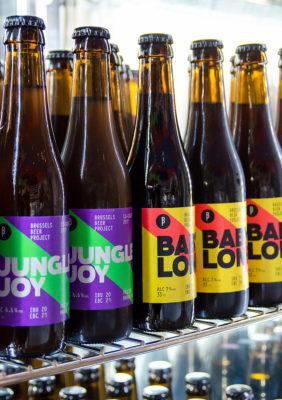 Label Experience : bouteilles de bière artisanale Brussels Beer Project