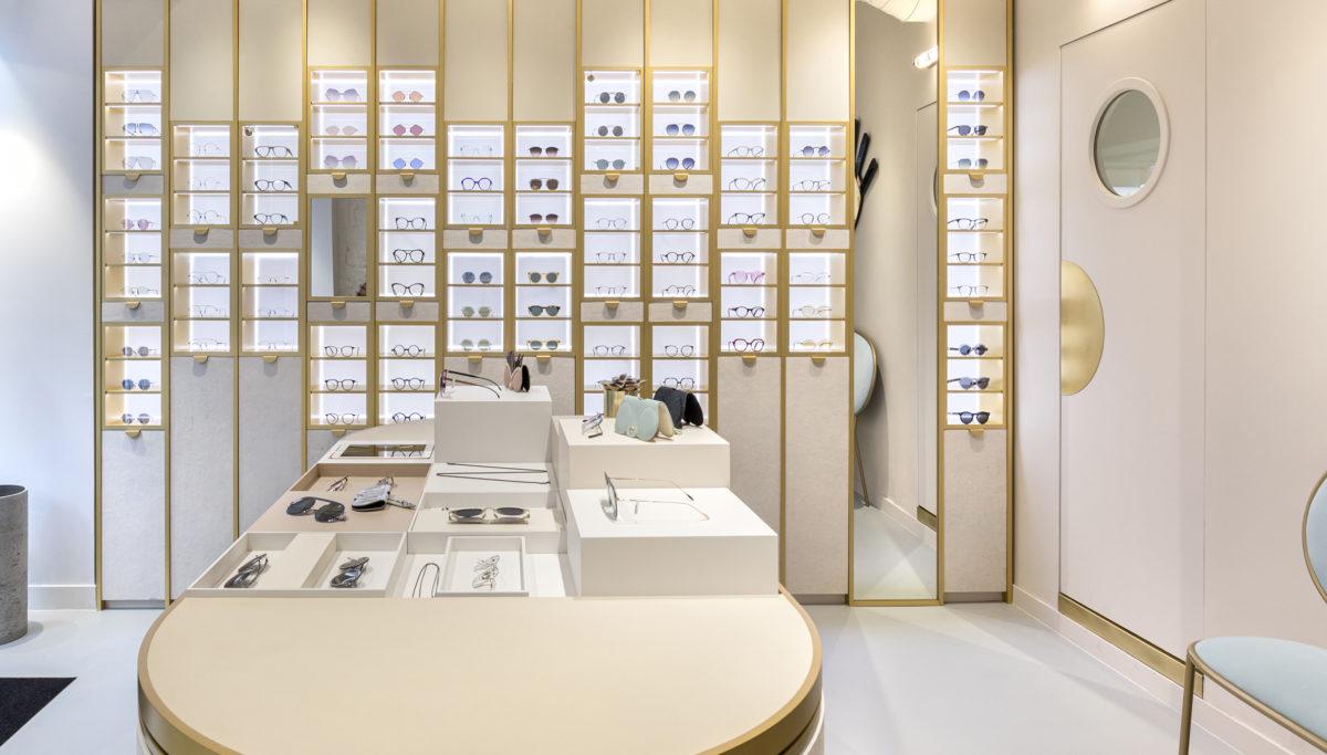 Label Experience : vue d'ensemble de la boutique Carlotti à Paris dans le Marais