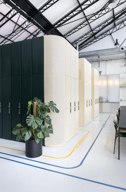Label Experience : cafétéria du L'Oréal MYT le lab d'innovation & incubateur d'entreprise à Aulnay-sous-bois