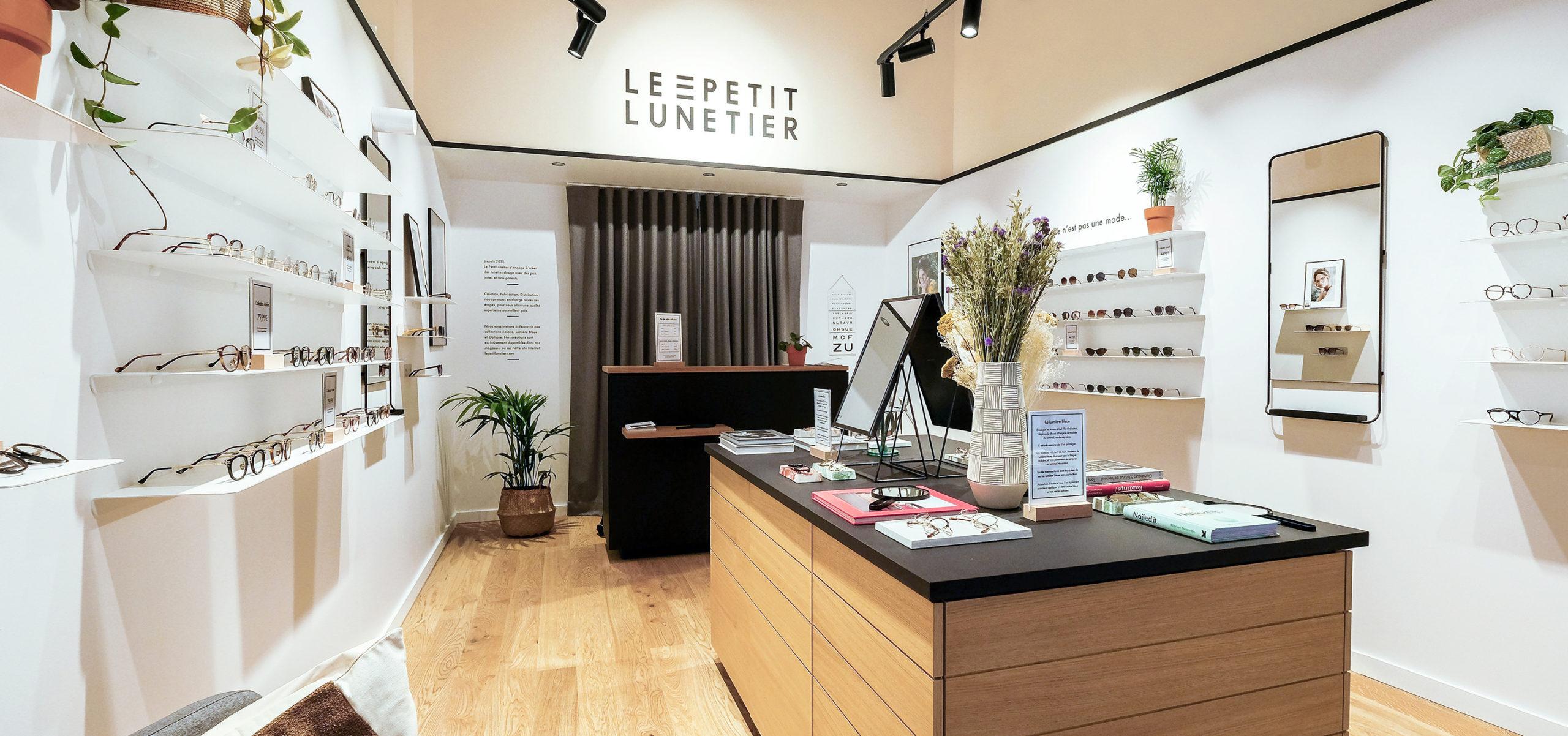 Label Experience : vue d'ensemble de la boutique de lunettes Le Petit Lunetier à Toulouse