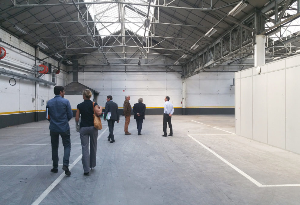 Label Experience : visite avant la reconstruction du MoHo, un tiers lieu dédié à l'innovation à Caen