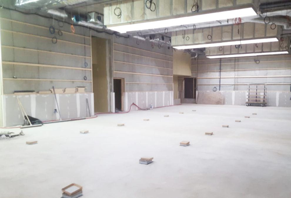 Label Experience : open space en construction au sein du MoHo, un tiers lieu dédié à l'innovation à Caen