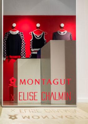 Label Experience: Habits derrière vitrine en collaboration avec Elise Chalmin du pop-up store « Montagut » à Paris.