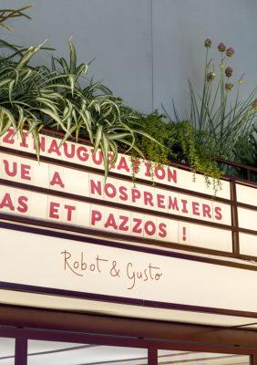 Label Experience : focus sur les herbes aromatiques au dessus de la cuisine du restaurant Pazzi