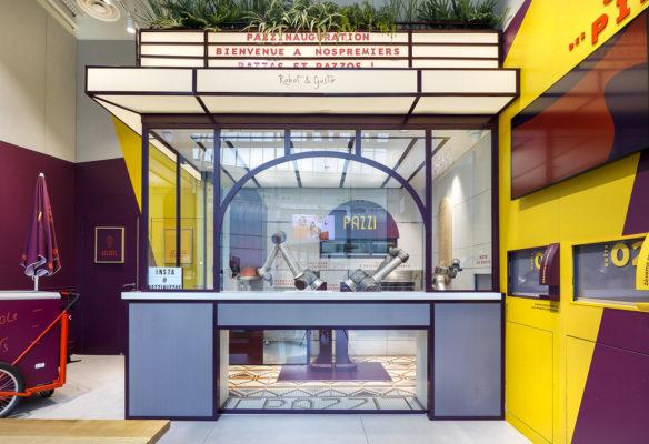 Label Experience : la cuisine du restaurant Pazzi au centre commercial Val d'Europe