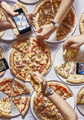Label Experience : un repas entre amis dans le restaurant Pazzi au centre commercial Val d'Europe