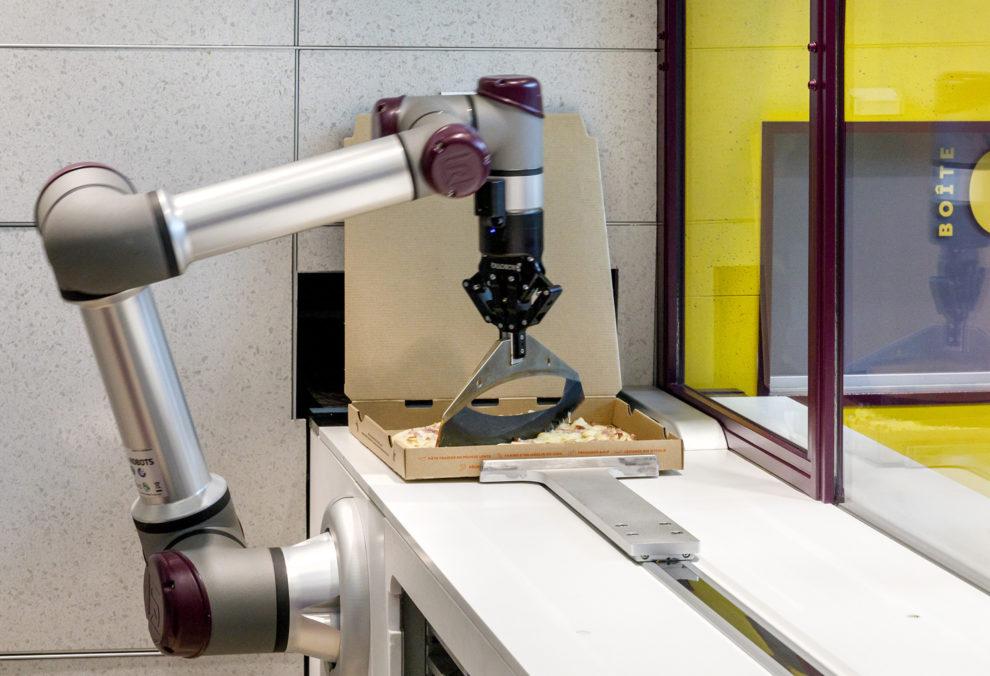 Label Experience : zoom sur le robot cuisinier Pazzi au centre commercial Val d'Europe