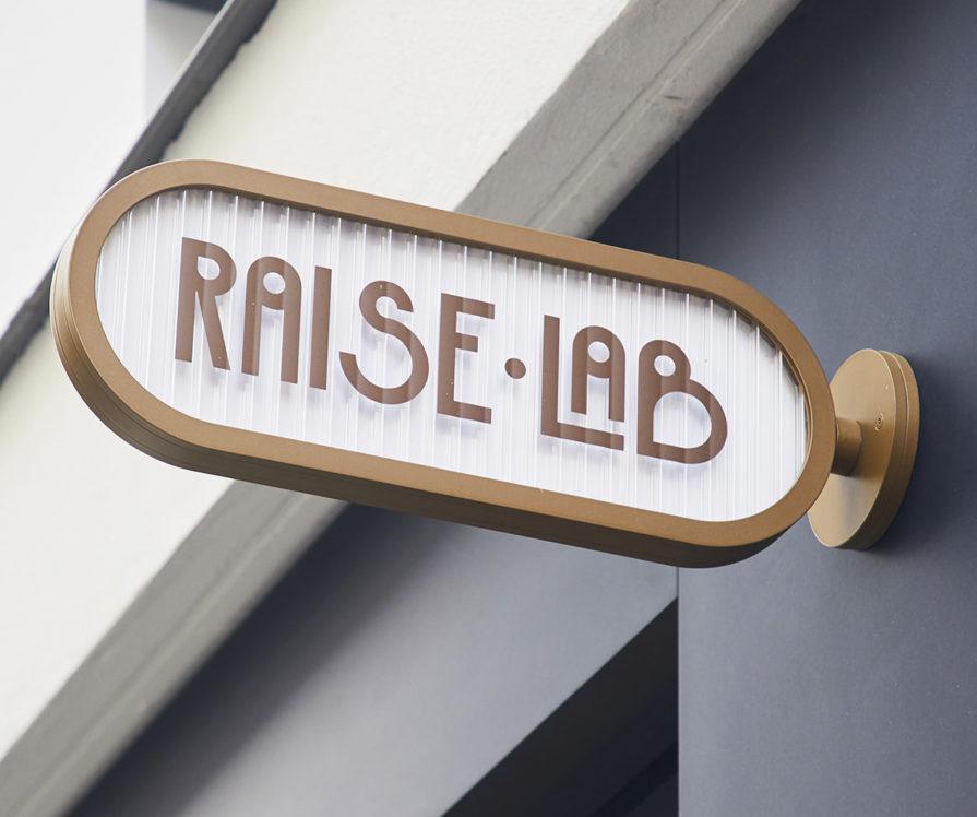 Label Experience : enseigne de RaiseLab dans le 11ème arrondissement de Paris