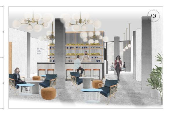 Label Experience : élévation du bar de RaiseLab dans le 11ème arrondissement de Paris