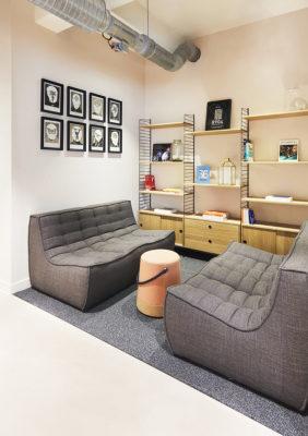 Label Experience : alcôve dans les espaces de coworking de RaiseLab dans le 11ème arrondissement de Paris