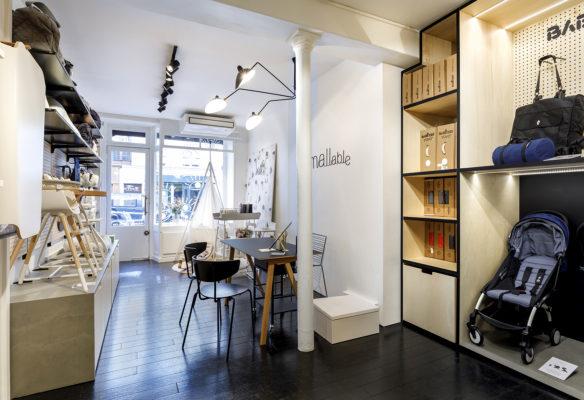 Label Experience : vue d'ensemble de la boutique Smallable baby store à Paris.