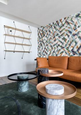 Label Experience: Espace détente et design du bureau « Smallable » à Paris.