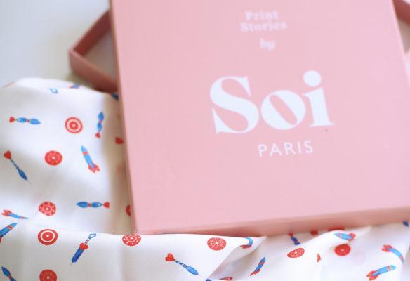 Label Experience : zoom sur le packaging des vêtements Soi à Paris