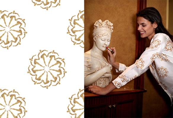 Label Experience : imprimé des vêtements de la boutique Soi à Paris