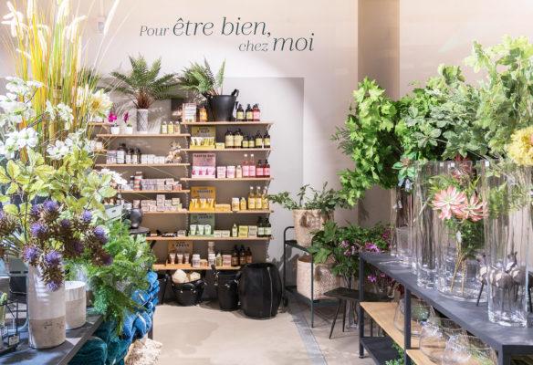 Label Experience: Point de vue sur un coin de vente de la boutique « Truffaut » à Boulogne.