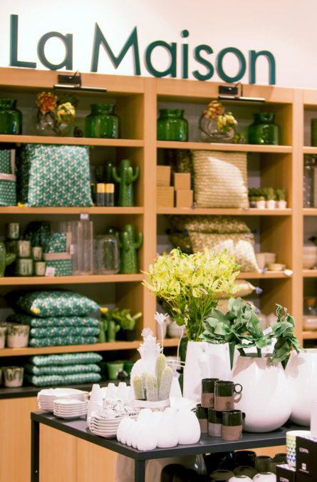 Label Experience: Produits pour « la maison » de la boutique « Truffaut » à Toulouse.