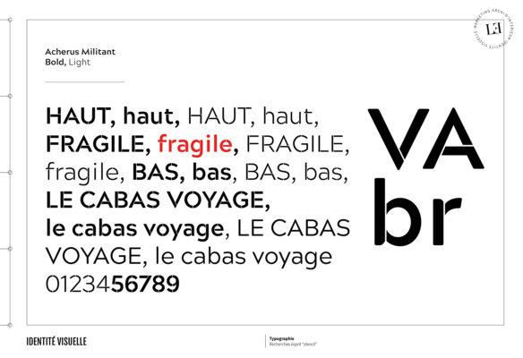Label Experience: Focus sur l'univers typographique de la signalétique du corner éphémère de Vanessa Bruno Saint-Tropez au Bon Marché.