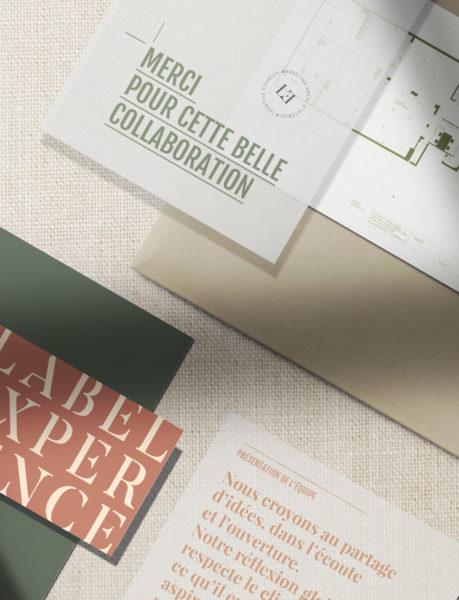 Label Experience : focus sur l'identité visuelle de l'agence