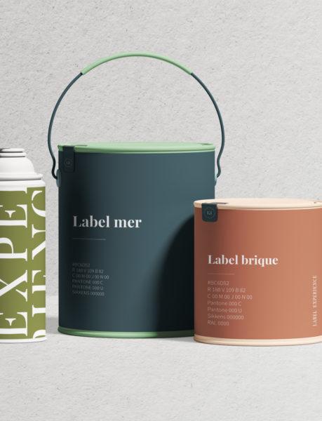 Label Experience : focus sur les couleurs identitaires de l'agence