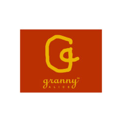 Label Experience : logo en couleur Granny Alice