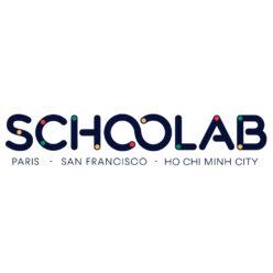 Label Experience : logo en couleur Schoolab