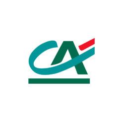 Label Experience : logo en couleur Crédit Agricole