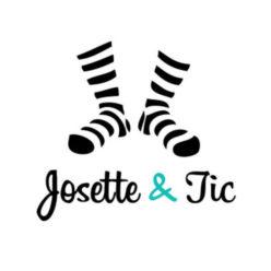 Label Experience : logo en couleur Josette & Tic