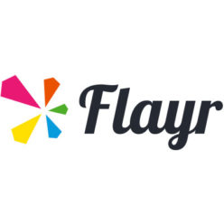 Label Experience : logo en couleur Flayr