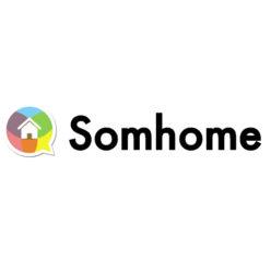 Label Experience : logo en couleur Somhome
