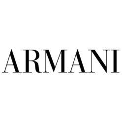 Label Experience : logo Armani