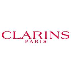 Label Experience : logo en couleur Clarins