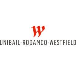 Label Experience : logo en couleur Unibail Rodamco Westfield
