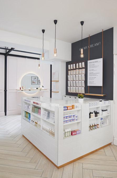 Label Experience: Caisse originale de la boutique « Oh my cream ! » rue Debelleyme à Paris.