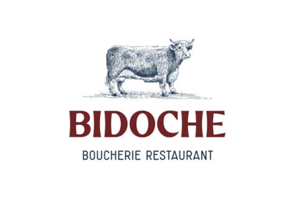 Label Experience : logo du restaurant-boucherie Bidoche à Paris dans le quartier d'Oberkampf