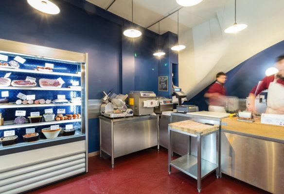 Label Experience : vue de la boucherie Bidoche à Paris dans le quartier d'Oberkampf