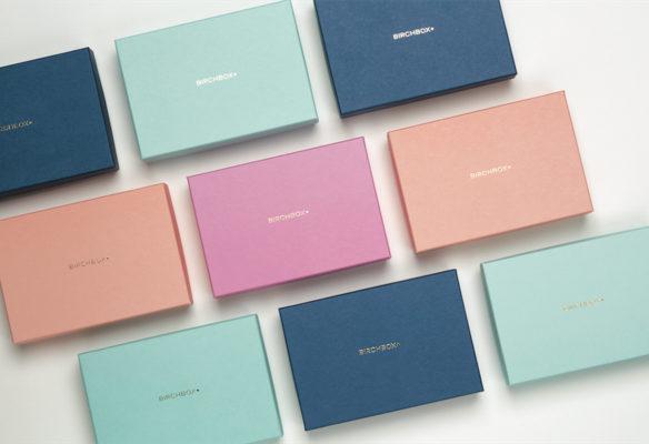 Label Experience : plusieurs boxes de cosmétique Birchbox colorées