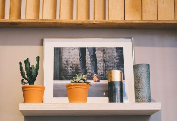 Label Experience : éléments décoratifs dans les bureaux BonneGueule à Paris