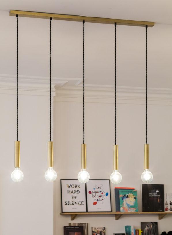 Label Eperience : focus sur les luminaires design dans les bureaux BonneGueule à Paris
