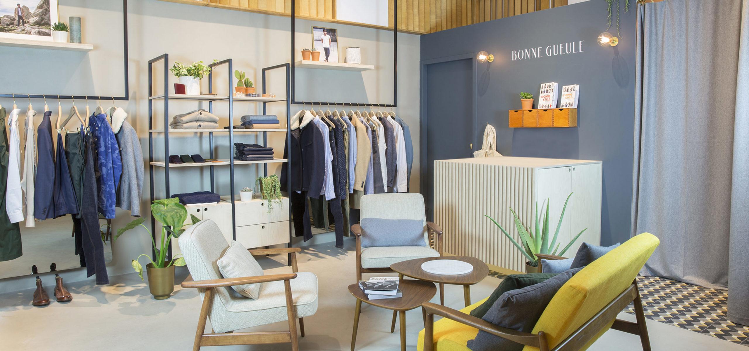 Label Experience : focus sur la caisse de la boutique BonneGueule à Lyon