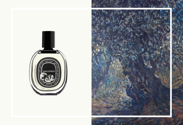 Label Experience: Parfum et peinture colorée du pop-up store « Diptyque » rue St Honoré à Paris.