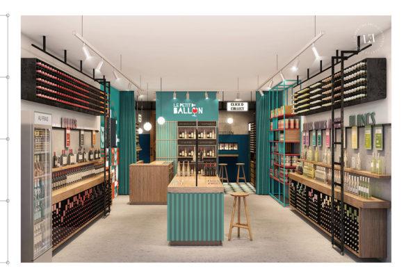Label Experience : vue globale de la boutique Le Petit Ballon à Paris