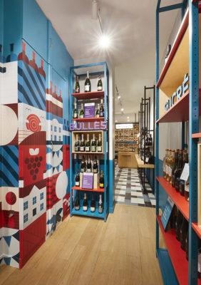Label Experience : un espace de vente coloré dans la boutique Le Petit Ballon à Paris