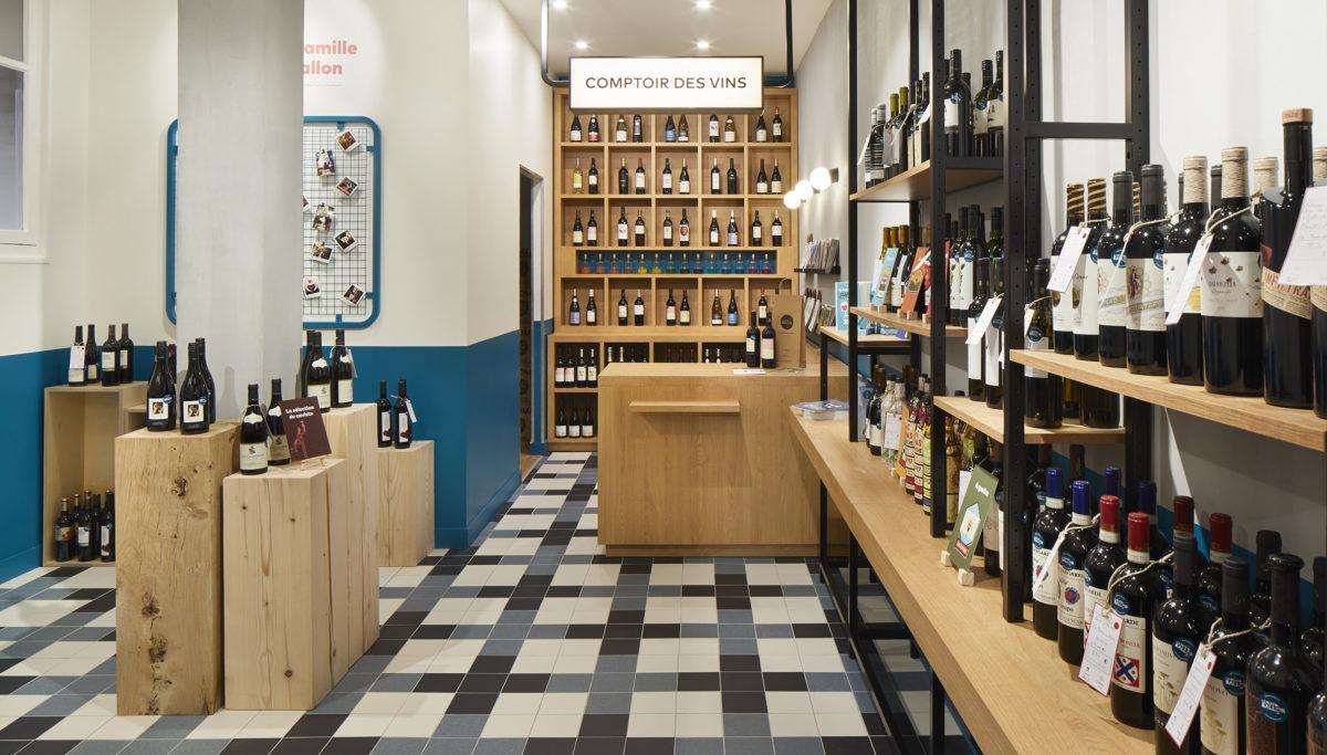 Label Experience : architecture d'intérieur de la boutique Le Petit Ballon à Paris
