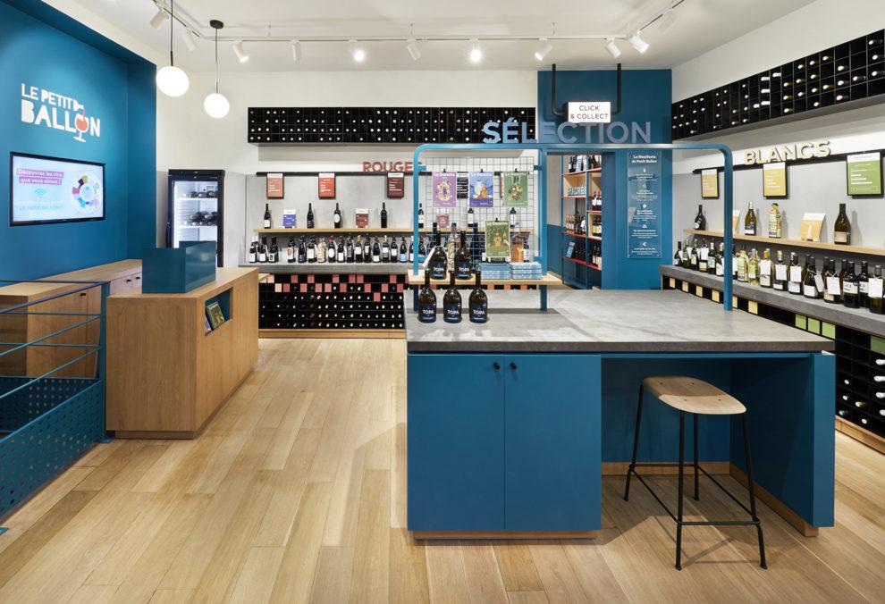 Label Experience : espace séléction dans la boutique Le Petit Ballon à Paris